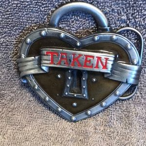 Taken Belt Buckle